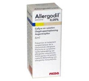 ALLERGODIL COLL FL 6ML 0,05%