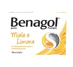 BENAGOL 16PAST MIELE LIMONE