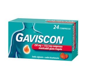 GAVISCON 24CPR FRAG250+133,5MG