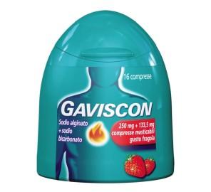 GAVISCON 16CPR FRAG250+133,5MG