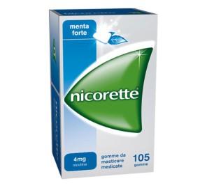 NICORETTE 105GOMME MAST 4MG ME