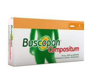 BUSCOPAN COMPOSITUM 6SUPP