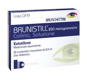BRUNISTILL COLL20FL 0,5ML0,025